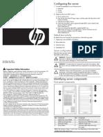 HP G5 Genaral Configuration