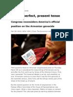 The Armenian Genocide Economist 03-05-10