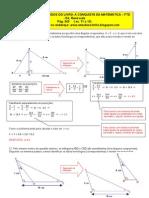 Exercícios Resolvidos de Matemática do Livro A Conquista da Matemática - pg. 243 (11 a 13)
