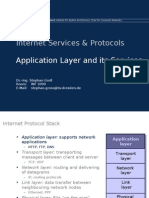 Application Layer and Services12