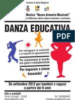 Progetti Educativi Di Danza Educativa Per Bambini e Ragazzi