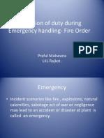 Petrochemical Emergency