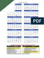 Calendario2013 Oracle