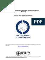 Immediate Postabortal Insertion of Intrauterine Devices