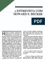 Uma Entrevista Com Howard Becker