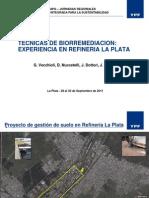 Tecnicas de Biorremediacion YPF
