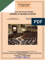 Políticas Anti-Crisis en España. ESPAÑA