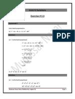 Unit# 3 Variations Exercise# 3.3.Docx