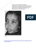 The Typical Facial Appearance of a Child With Untreated