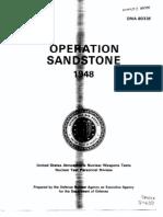 1948 - Dna 6033f - Operation Sandstone 1948