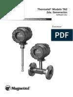 Manual de Magnetrol Flujometro de Gasaire