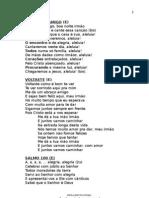 Livro de Canto 2013 PENIEL Final