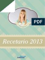Recetario2013 de Silvia Valdemoros