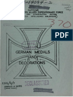 German Medals and Decorations