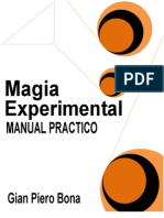 Bona, Gian Piero - Manual Practico de Magia Experimental