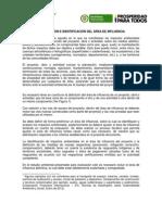 DEFINICIÓN E IDENTIFICACIÓN DEL ÁREA DE INFLUENCIA_ANLA_DICIEMBRE 2012