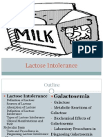 Galactosemia and Lactose Intolerance Powerpoint Final (1)