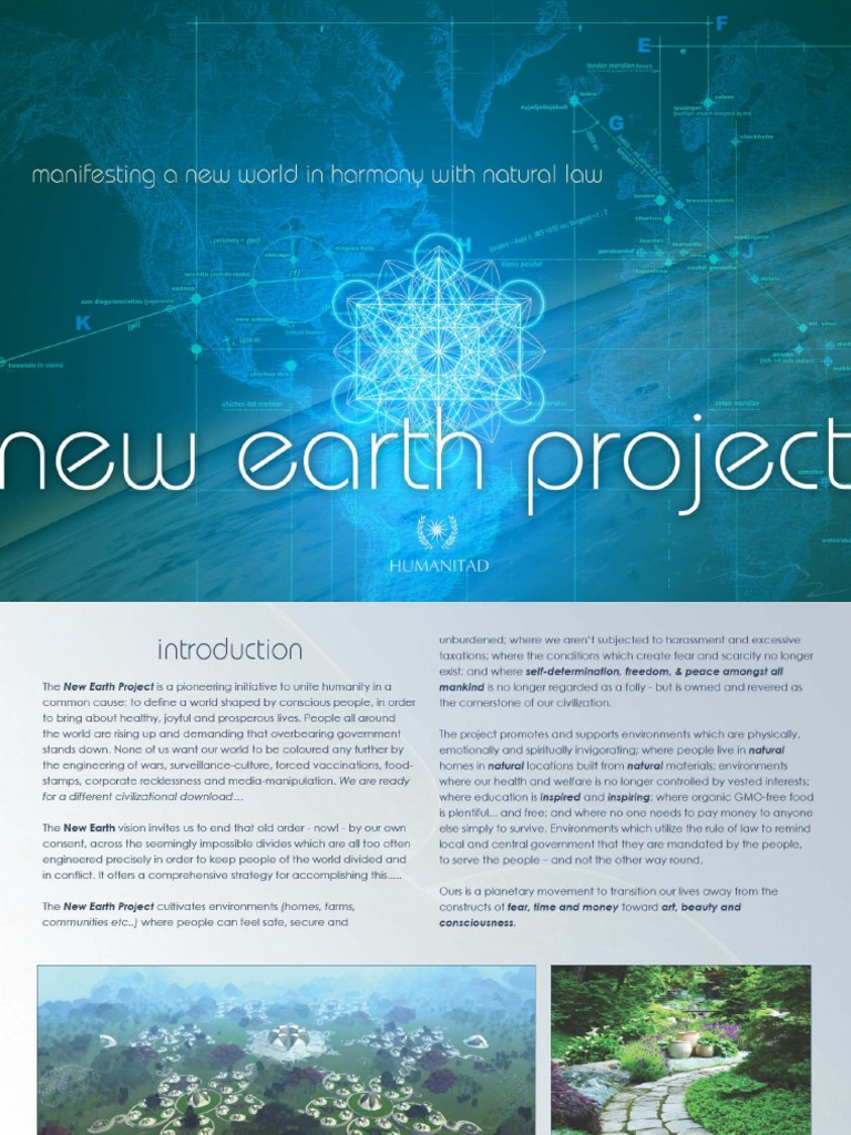 New earth project presentation publicscrutiny Image collections