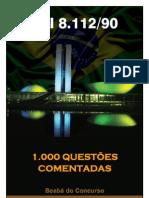 Lei 8.112-90 2012 questões comentds