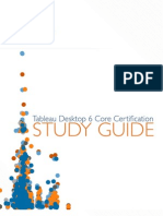 Tableau Certification Study Guide