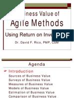 Business Value of Agile Methods