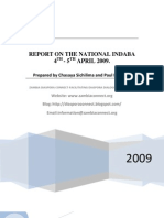 Zambia Diaspora Connect Report on the National Indaba