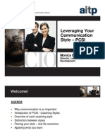 Leveraging Your Communications