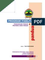 Panduan Fasilitasi Perguruan Tinggi 2014