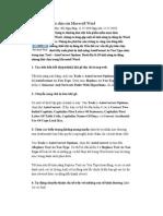 10 tính năng khó chịu của Microsoft Word