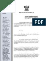 DECRETO No 23.624 Dispõe sobre a programação orçamentária e financeira do exercício de 2013