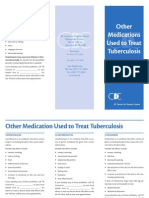 Other Medications Used to Treat Tuberculosis