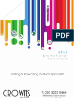 Crowns Digital Promotional Items Catalogue