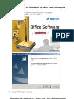 Topcon Link y PC