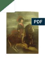 Retrato Equestre de Filipe IV- Velázquez para Garrido