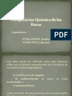 Composicion Quimica de Las Rocas