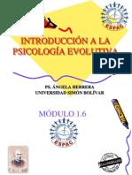 PSICOLOGÍA EVOLUTIVA 1.6