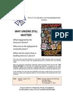 Why Unions Still Matter