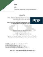 Informe de la Investigación Ruta de la Mujer Embarazada HR-HN