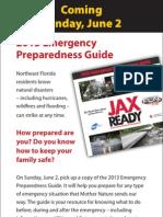 Ad for Disaster Preparedness Guide