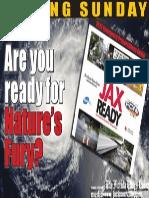"Unused Disaster Preparedness Ad 17""x11"""