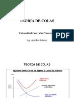 Formulario - Teoria de Colas