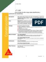 Aditivo Reductor Agua Plastificante Sikament 100