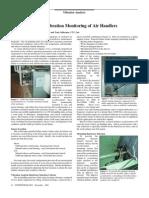 11-Air Handlers - Simple Low Cost Vibration Monitoring of Air Handlers