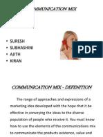 Comunication Mix