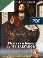 Programa El Salvador 2013 Fiestas de Lagartera