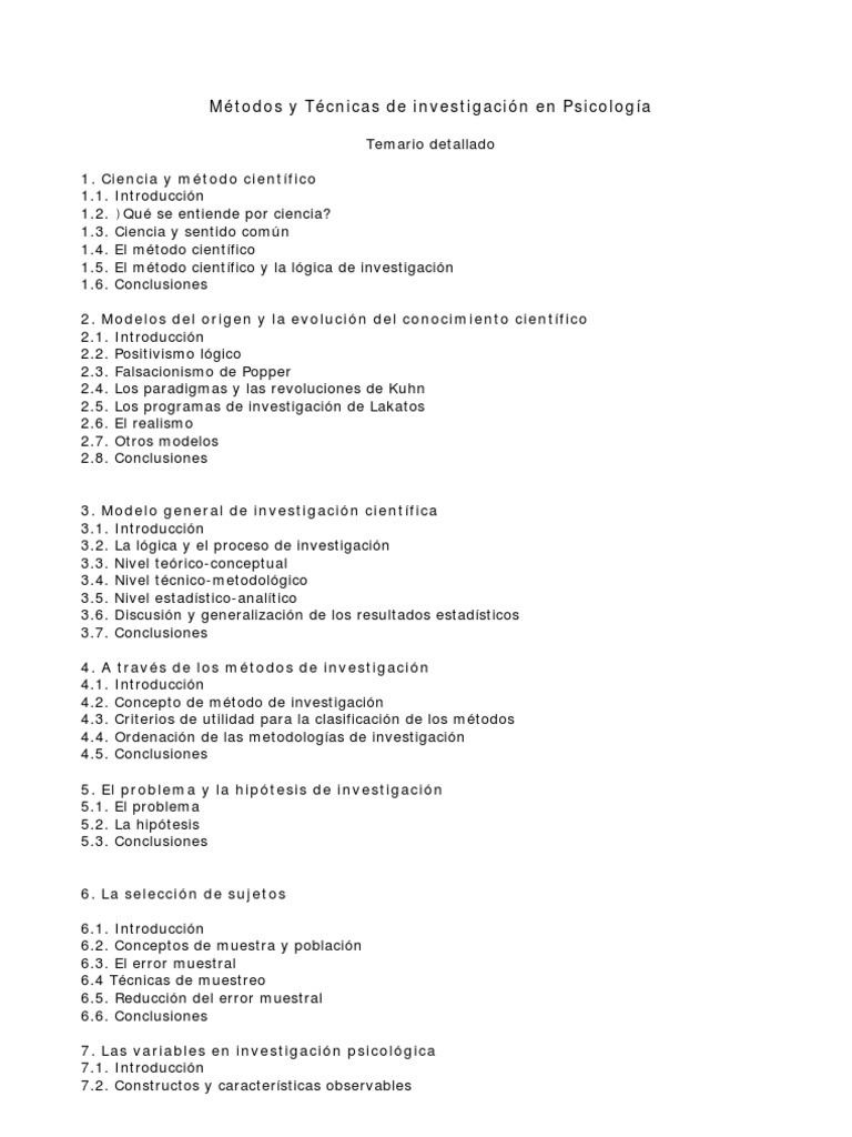 Famoso Temario Resume Muestra Imagen - Colección De Plantillas De ...