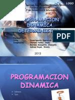 PROGRAMACION DINAMICA DETERMINISTICA