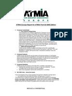 ATMIA Post Report Q3 05.