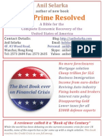 Sub Prime Resolved - A New Book by Anil Selarka