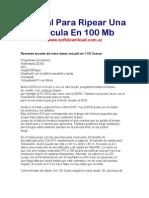 Manual Para Ripear Una Pelicula En 100 Mb.pdf